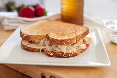 Classic Turkey Reuben Recipe