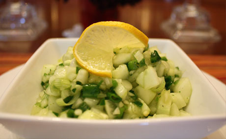 Cucumber Lime Salsa