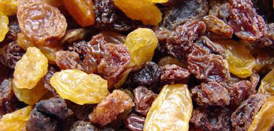 Healthy Snacks Raisins