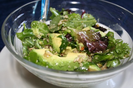 Hemp Seed and Avocado Salad Image