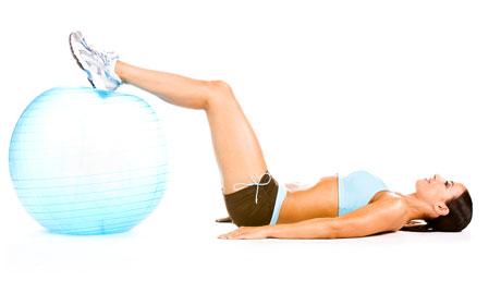 Leg Curl- Using Stability Ball