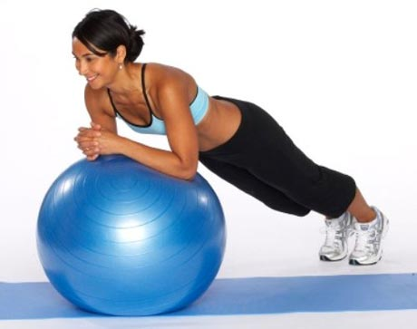 Rock and Roll with Stability Ball