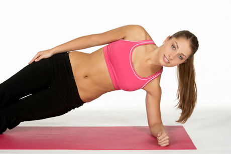 Side Plank or One-arm Plank Exercise
