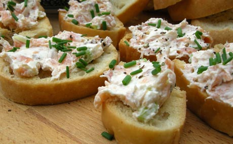 Smoked Salmon and Chives Pate