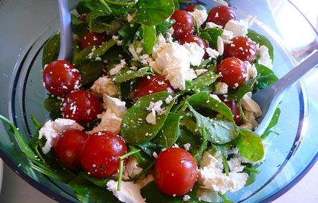 Spinach Feta Salad Recipe