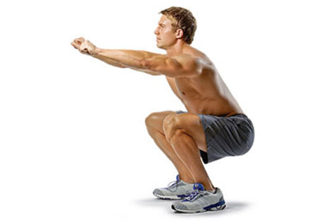 Squats - Leg Exercises