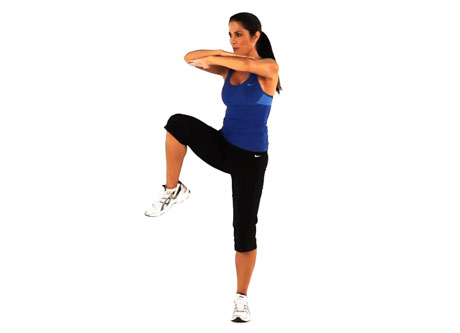 Warm-up Exercises - Knee Ups