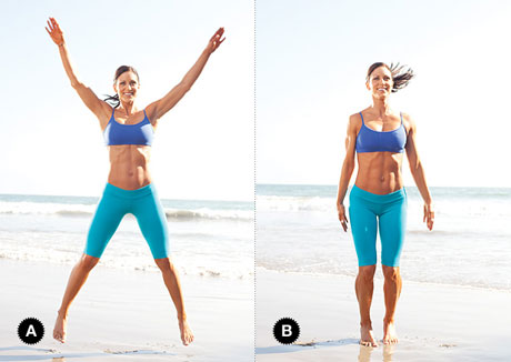 Jumping Jacks Exercise Video | Fitness & Health