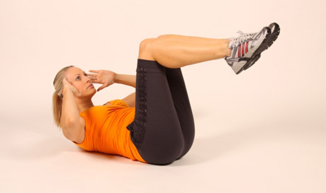 Core Strength Exercises: Double Crunch | Health & Fitness