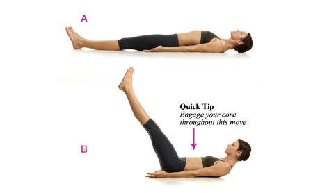 leg raises video demonstration  fitness  health