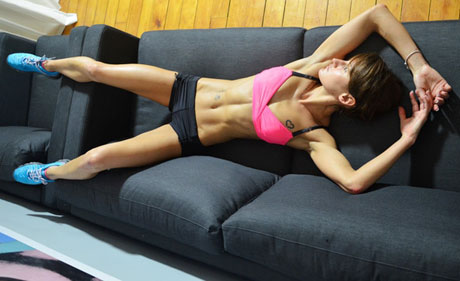 upper body workout at home  fitness  health
